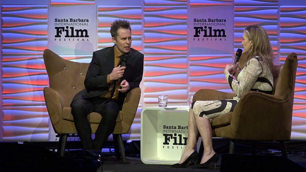 "SBIFF 2018 - Sam Rockwell Discusses ""Matchstick Men"""