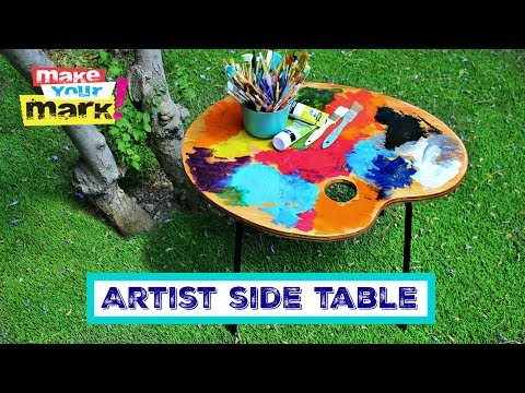 How to: Artist Side Table