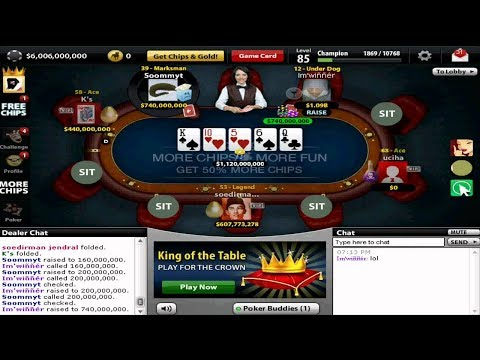 Texas Holdem Poker Get Free Chips 500m - 2017