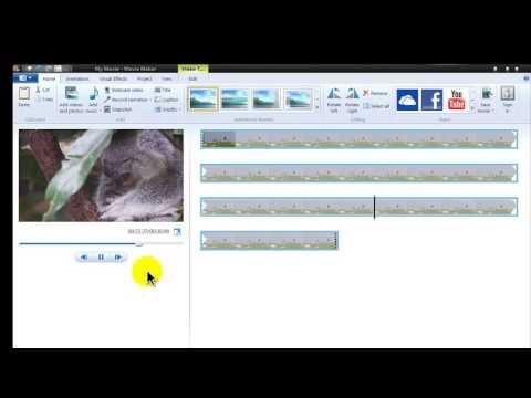 how to make a video in slowmotion in windows live movie maker