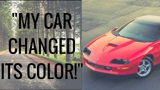But My Car Was Red?! (Mandela Effect/Glitch In Reality) - Strange Story!