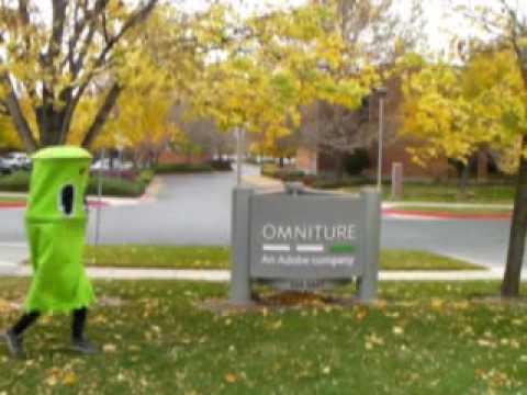 PacMan!  Omniture (an Adobe Company) Halloween 2009