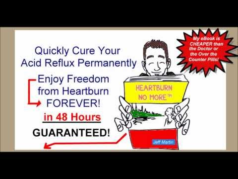 How to Stop Heartburn and Acid Reflux Permanently Using Home Remedies