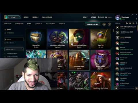 League Of Legends Mystery Skins 2