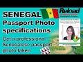 Senegal Passport Photo and Visa Photo specifications