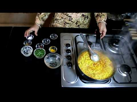 Chana dal Recipe - Chana dal Tadka fry - Punjabi chana dal masala