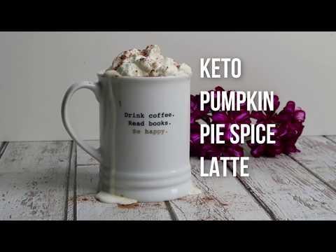 Keto Recipe - Pumpkin Spice Latte