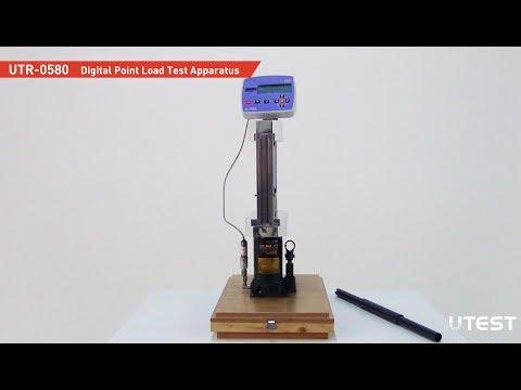 UTR 0580, Point Load Test Apparatus, EN