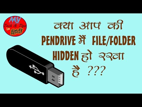 How to Show hidden files/folder from pendrive