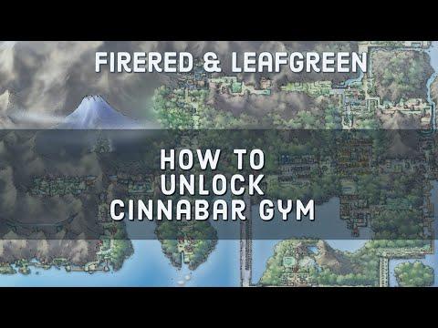 How to Unlock Cinnabar Gym (Pokemon FireRed & LeafGreen)