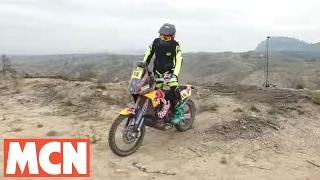 KTM Factory Dakar Bike 2017 | Test | Motorcyclenews.com