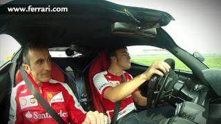 """Fernando Alonso and the LaFerrari: """"Remember, two slow laps..."""""""
