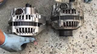 How to Replace Alternator Belt 01-05 Honda Civic - PakVim
