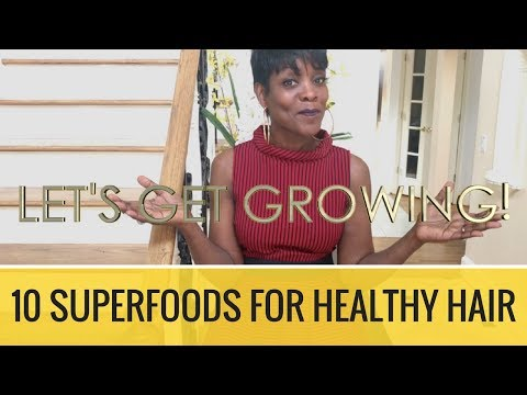10 Powerful Super Foods That Gives You Healthy Hair - Natural Hair Solutions
