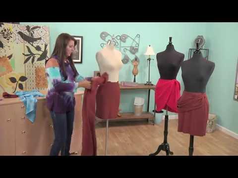 Learn How to Drape a Skirt Pattern - Fashion Design DIY
