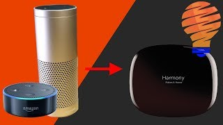 Amazon Echo and Harmony Hub - Setup and Integrated Together