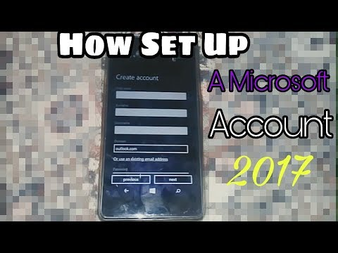 How To Create Microsoft Account in Windows Device