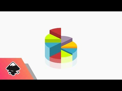 Inkscape Tutorial: Vector Pie Chart Icon