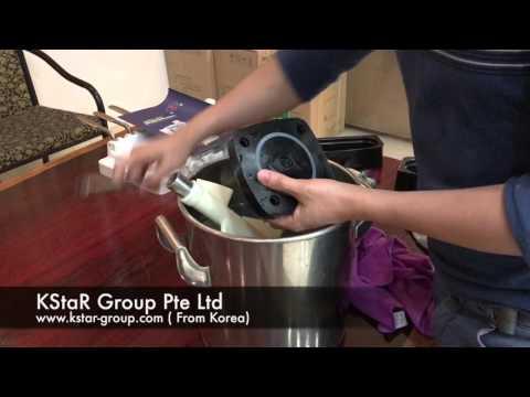 How to clean soft serve ice cream machine 3118Y