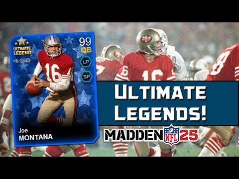 MUT 25 Ultimate Legends Pack Opening! | Madden 25 Ultimate Team Joe Montana & Mike Webster