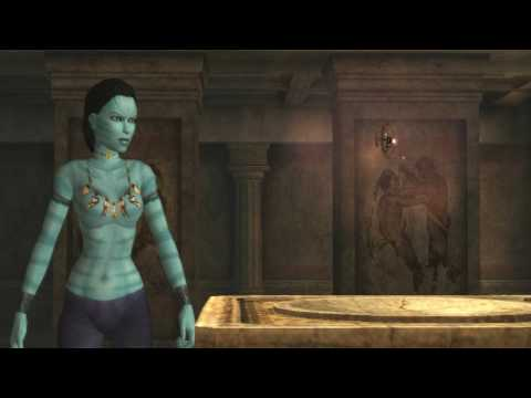 Lara Croft as Neytiri - Avatar outfit