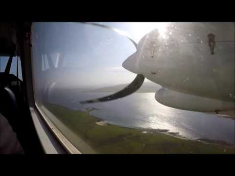 Orkney Flight Westray to Kirkwall