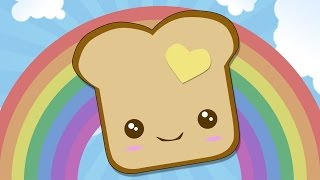 BUTTERED TOAST - I am Bread