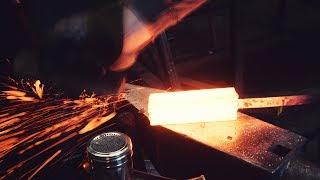 Forging A Viking Broad Seax (breitsax Ep .1)