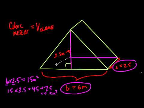 Cubic Meters in a Right Triangular Prism - #46