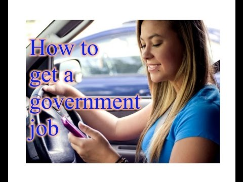How to Get a Government Job USA