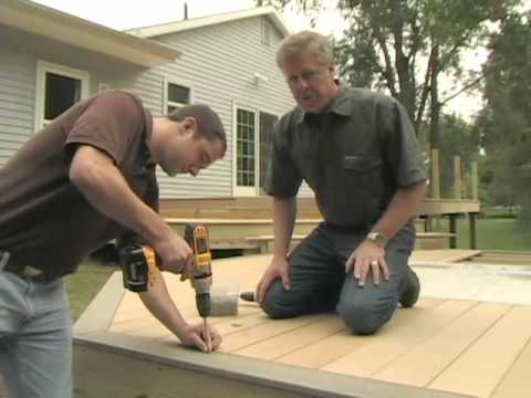 How to Install Latitudes Deck, Railing and Accessories