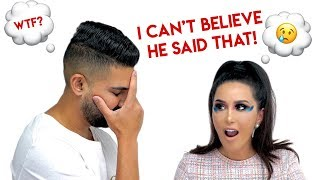 Download Girlfriend Does Makeup Crazy To See How Boyfriend Reacts | Dhar and Laura Video