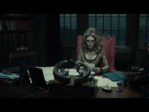 Dark Shadows - Movie Clip - A Vampire! (2012) HD