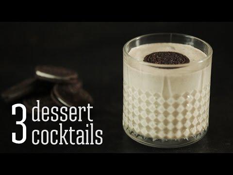 3 dessert cocktails [BA Recipes]