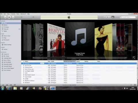 How To Upload Album Covers To Apple iTunes Music Library