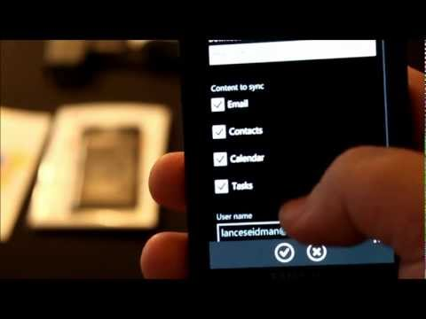Backup your Windows Phone 7 to Hotmail in 3 Seconds
