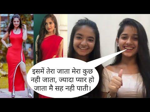 Xxx Mp4 Jannat Zubair Rahmani And Anushka Sen Live Video Pankti Sharma Tu Aashiqui Meher Baal Veer 3gp Sex