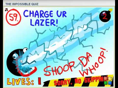 The Impossible quiz 5 questions 56-62