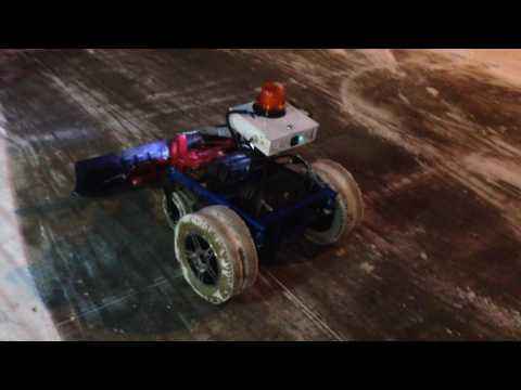 RC SNOW PLOW HOME MADE