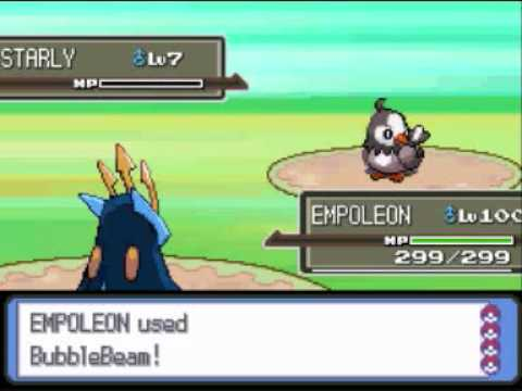 Pokemon Platinum: Catching Other Trainers Pokemon (AR Code in Description)