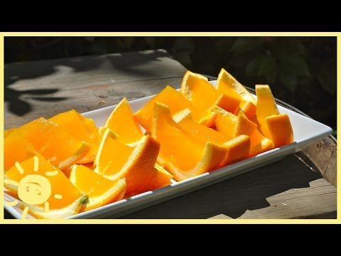 EAT | Orange Jello Slices
