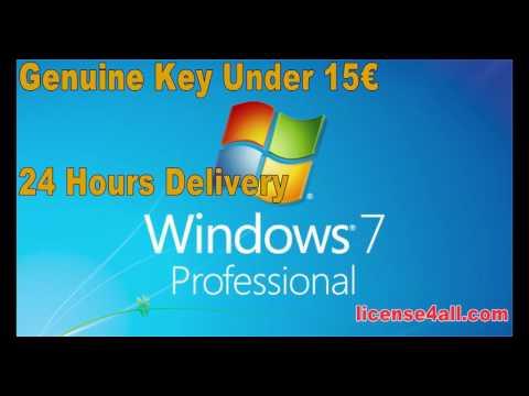 Windows 7 Pro Genuine Key