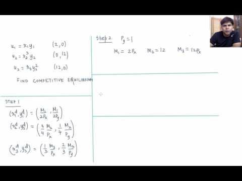 L2.11 - Competitive Equilibrium - Example (Cobb-Douglas Case)