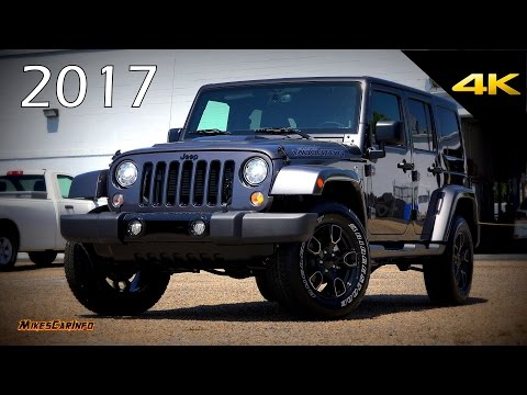 2017 Jeep Wrangler Unlimited Sahara Smokey Mountain Special Edition - Ultimate In-Depth Look in 4K
