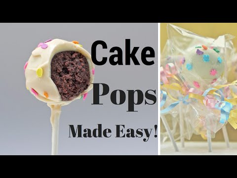 How To Make CAKE POPS ~ Easy Cake Pops Tutorial