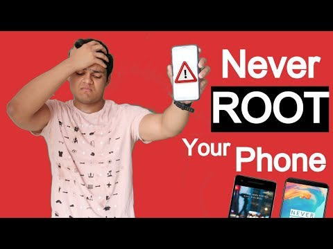 Never Root Your Android Device