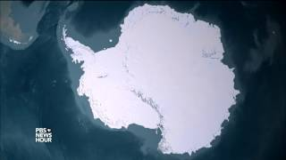 How scientists are tracking a massive iceberg in the making