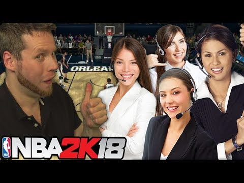 Calling Some Friends NBA 2K18 Draft