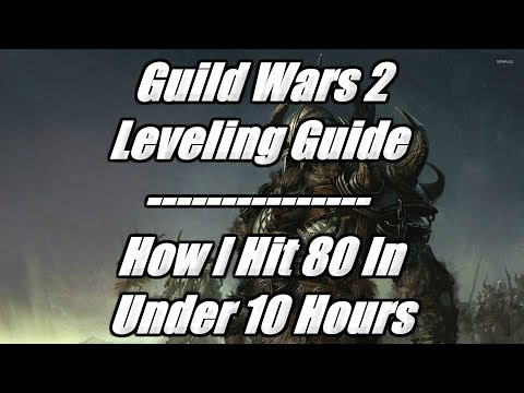 Guild Wars 2 Leveling Guide - How To Level Faster! & How i Hit 80 In 10 Hours