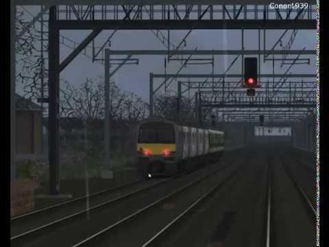 Train Simulator 2015 | GEML | 2K79 Southend Victoria - London Liverpool Street